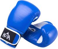 Боксерские перчатки KSA Wolf Blue (8oz) -