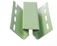 Угол для сайдинга Docke Dacha внутренний (3м, светло-зеленый) -