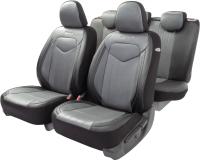 Чехол для сиденья Autoprofi Signature SGN-1505GF BK/GY -
