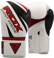 Боксерские перчатки RDX Rex BGR-F10W (12oz, белый) -