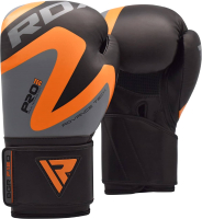 Боксерские перчатки RDX Rex BGR-F12O (12oz, оранжевый) -