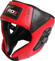 Боксерский шлем RDX JHR-F1R (красный) -