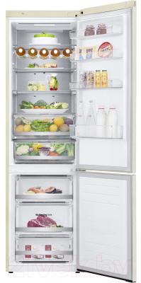 Холодильник с морозильником LG DoorCooling+ GA-B509SEUM