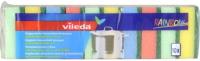 Набор губок для мытья посуды Vileda Радуга (10шт) -