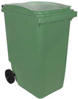 Контейнер для мусора Plastik Gogic 360л (зеленый) -