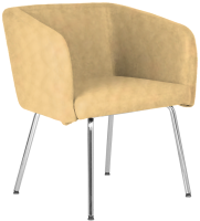 Кресло мягкое Nowy Styl Hello 4L Chrome (Eco-1) -