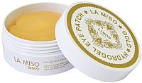 Патчи под глаза La Miso Гидрогелевые с частицами золота (60шт) -