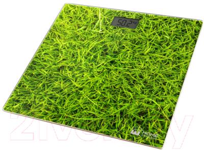 Напольные весы электронные Home Element HE-SC906 (молодая трава)