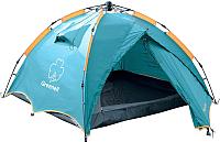 Палатка GREENELL Дингл Лайт 3-местная (зеленый) -