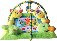 Развивающий коврик Lorelli Звери на подушках / 10300360000 -
