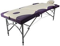 Массажный стол Atlas Sport 2723-3А XXL PRO №4-9 (кремовый/фиолетовый) -