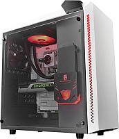 Корпус для компьютера Deepcool Baronkase Liquid / DP-MATX-BNKSWH-LQD (белый) -