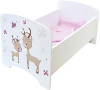 Аксессуар для куклы Paremo Кровать. Крошка Зуи Мини / PFD120-94M -