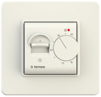 Терморегулятор для теплого пола Terneo Mex (слоновая кость) -