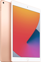 Планшет Apple iPad 10.2 Wi-Fi 32GB / MYLC2 (золото) -