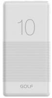 Портативное зарядное устройство Golf G80 10000mAh (белый) -