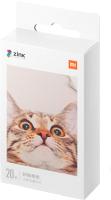 Фотобумага Xiaomi Mi Portable Photo Printer Paper 2x3 (TEJ4019GL) (20л) -