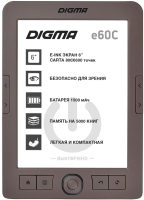 Электронная книга Digma E60C (коричневый) -