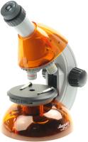 Микроскоп оптический Микромед Атом 40x-640x / 27389 (апельсин) -
