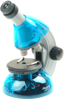 Микроскоп оптический Микромед Атом 40x-640x / 27388 (лазурь) -