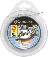Набор поводков рыболовных KAMATSU Volfram Carbon / 276005005 -