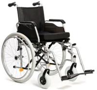 Кресло-коляска инвалидная Vitea Care Forte Plus стандартная с литыми колесами 16