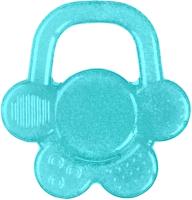 Прорезыватель для зубов BabyOno Цветочек / 1018 (бирюзовый) -