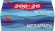 Бумажные салфетки Ruta Family Pack косметические белые 200x210 (200шт) -