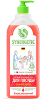Средство для мытья посуды Synergetic Биоразлагаемое с ароматом арбуза (1л) -