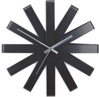 Часы каркасные Umbra Ribbon 118070-040 (черный) -