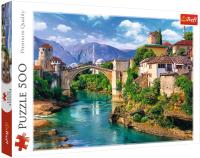 Пазл Trefl Старый мост в Мостаре, Босния и Герцеговина / 37333 (500эл) -