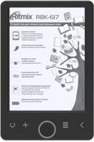 Электронная книга Ritmix RBK-617 (черный) -