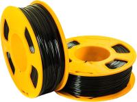 Пластик для 3D печати U3Print GF PETG 1.75мм 1кг (черный) -
