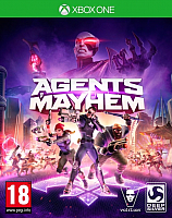Игра для игровой консоли Microsoft Xbox One Agents Of Mayhem. Steelbook Edition -