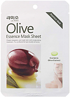 Маска для лица тканевая La Miso С экстрактом оливы (21г) -