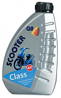 Моторное масло Q8 Scooter Class 10W40 / 104010001 (1л) -