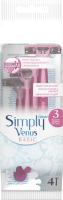 Набор бритвенных станков Gillette Simply Venus 3 Basic (4шт) -