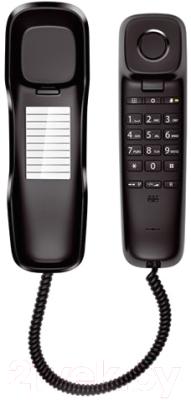 Проводной телефон Gigaset DA210 (черный)