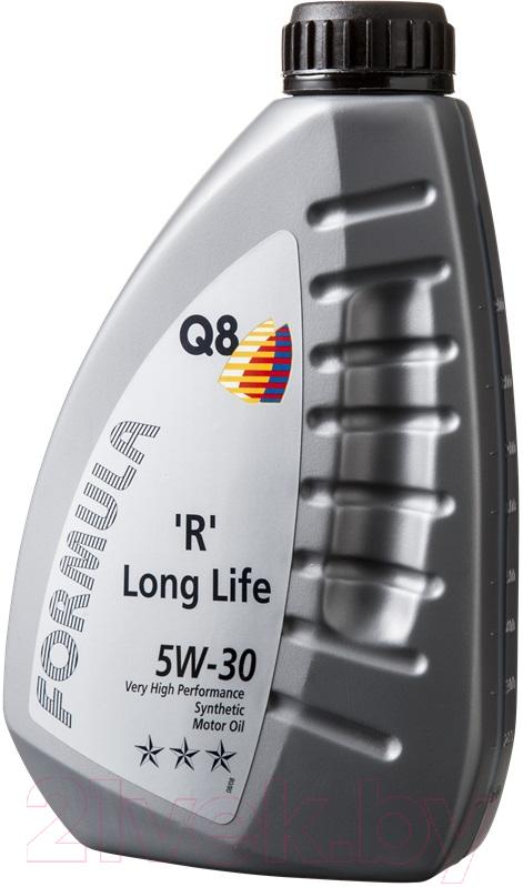 Купить Моторное масло Q8, R Long Life 5W30 / 101108001760 (1л), Бельгия