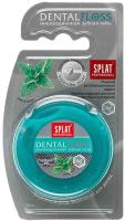 Зубная нить Splat Professional с мятой и волокнами серебра супертонкая (30м) -