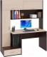 Компьютерный стол Сокол-Мебель КСТ-17 (венге/беленый дуб) -