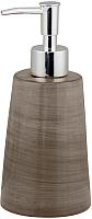 Дозатор жидкого мыла Axentia Маракеш 130883 (коричневый) -