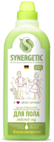 Чистящее средство для пола Synergetic Биоразлагаемое. Райский сад (750мл) -