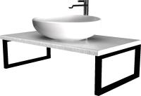 Столешница для ванной 1Марка Grunge Loft 90 / У85840 -