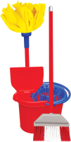 Набор хозяйственный игрушечный Terides Для уборки / Т4-147 -