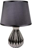 Прикроватная лампа Лючия Луара 454 (серебро/черный) -