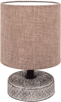 Прикроватная лампа Лючия Лима 455 (светлый шоколад) -