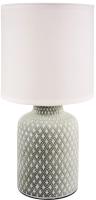 Прикроватная лампа Лючия Ромбы 452 (светло-серый) -