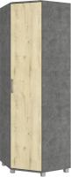Шкаф Modern Карина К57 (камень темный/ирландский дуб) -