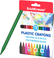Пластиковые мелки Erich Krause 50526 (12цв) -